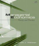Ebook Managerial economics - Theory and practice: Part 2