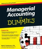 Ebook Managerial accounting for dummies: Part 2