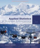 Ebook Applied statistics - In business and economics (3E): Part 1