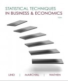 Ebook Statistical techniques in business & economics (15th edition): Part 1