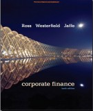 Ebook Corporate finance (10th edition): Part 1