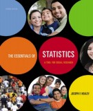 Ebook The essentials of statistics - A tool for social research (2nd edition): Part 1
