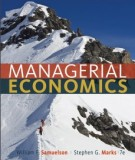 Ebook Managerial economics (7th edition): Part 1