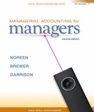 Ebook Managerial accounting for managers (2nd edition): Part 1