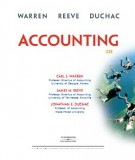 Ebook Accouting (22th edition): Part 1