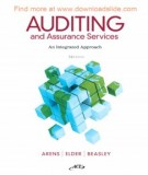 Ebook Auditing and assurance services (14th edition): Part 1