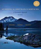 auditing & assurance services (6th edition): part 2