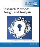 research methods, design, and analysis (12th edition): part 1