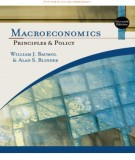 Ebook Macroeconomics principles and policy (11th edition): Part 1