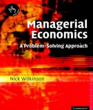 Ebook Managerial economics - A problem solving approach: Part 1