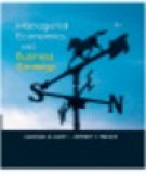 Ebook Managerial economics and business strategy: Part 2