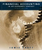 Ebook Financial accounting - In an economic context (8th edition): Part 1