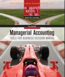 managerial accounting - tools for business decision making (5th edition): part 1