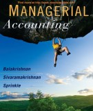 Ebook Managerial accounting: Part 1