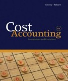 Ebook Cost accounting - Foundations and evolutions (8th edition): Part 1