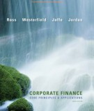 Ebook Corporate finance - Core principles & applications (3rd edition): Part 1