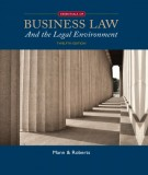 Ebook Business law - An the legal environment (12th edition): Part 1