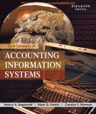 core concepts of accounting information systems (11th edition): part 1