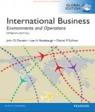 Ebook International business - Environments and operations (15th edition): Part 1