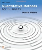 quantitative methods for business (5th edition): part 2