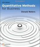 Ebook Quantitative methods for business (5th edition): Part 2