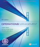 Ebook Operations management (5th edition): Part 1