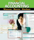 Ebook Financial accounting (12th edition): Part 1