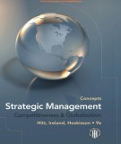 concepts strategic management - competitiveness & globalization (9th edition): part 1