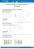 Giải bài tập Một phần ba SGK Toán 2