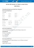 Giải bài tập Bảng chia 4 SGK Toán 2