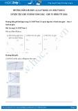 Giải bài tập Luyện tập chu vi hình tam giác-chu vi hình tứ giác SGK Toán 2