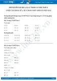Giải bài tập Luyện tập chung số 1, số 0 trong phép nhân và phép chia SGK Toán 2