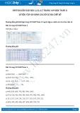 Giải bài tập Luyện tập so sánh các số có ba chữ số SGK Toán 2