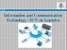Lecturte Logistics management - Chapter: Information and communication technology (ICT) in logistics