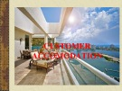Lecturte Logistics management - Chapter: Customer accomodation
