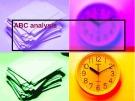 Lecturte Logistics management - Chapter: ABC analysis