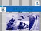 Lecturte Logistics management - Chapter 3: International logistics