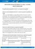 Giải bài tập Các vùng kinh tế trọng điểm SGK Địa lí 12
