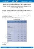 Giải bài tập Thực hành (Vẽ biểu đồ và phân tích sự phân hóa thu nhập bình quân theo đầu người giữa các vùng) SGK Địa lí 12