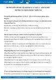 Giải bài tập Bảo vệ môi trường và phòng chóng thiên tai SGK Địa lí 12