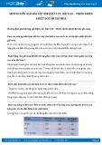 Giải bài tập Thiên nhiên nhiệt đới ẩm gió mùa SGK Địa lí 12