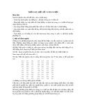Bài giảng Thống kê y học - Bài 6: Thống kê, biến số và phân phối