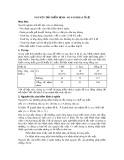 Bài giảng Thống kê y học - Bài 8: Nguyên tắc kiểm định - So sánh hai tỉ lệ