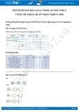 Giải bài tập Luyện tập chung các số trong phạm vi 1000 SGK Toán 2