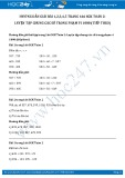 Giải bài tập Luyện tập chung các số trong phạm vi 1000 (tiếp theo) SGK Toán 2