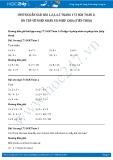 Giải bài tập Ôn tập về phép nhân và phép chia (tiếp theo) SGK Toán 2