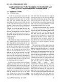 Các phương pháp phân tích động phi tuyến kết cấu theo lịch sử thời gian trong SAP2000 (Phần 1)
