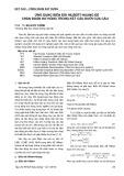 Ứng dụng biến đổi Hilbert-Huang để chẩn đoán hư hỏng trong kết cấu dưới của cầu