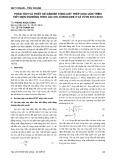 Phân tích và thiết kế dầm bê tông cốt thép chịu uốn trên tiết diện nghiêng theo ACI 318, Eurocode 2 và TCVN 5574:2012