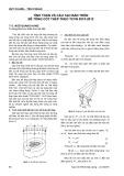 Tính toán và cấu tạo bản tròn bê tông cốt thép theo TCVN 5574:2012